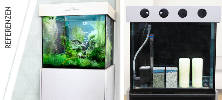 Aquarium-Einsteiger-Modell / cubus big / one for all